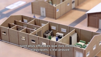 3D printing and virtual reality technology to assist Médecins Sans Frontières (MSF) to design hospitals  - FRENCH