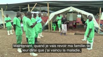 Finda, ebola survivor, first treated patient in Kailahun - FR