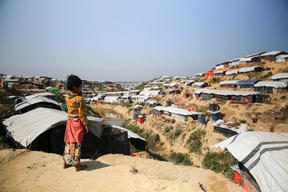 MSF activities and daily life of the refugees in Tasnimarkhola camp.