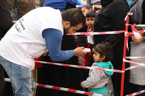 Shatila and Sabra measles vaccination campaign