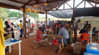 Mass Vaccination Campaign in CAR
