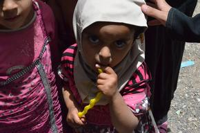 IDPs in Al-Salam school - Khamer - Amran governorate