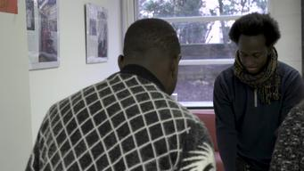 WEBLCLIP: MIGRATION. A day in the MSF Centre for Unaccompanied Minors in Paris (INT)