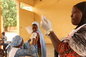 Niger - Meningintis vaccination - April 2017