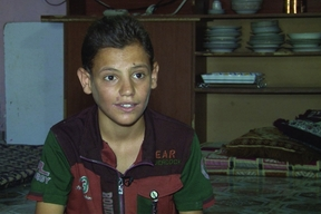 "Irak - Mohammad Ahmed Wasmy: ""My dream is to return to school"""