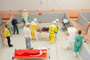 Ebola training, Amsterdam, Nov 6th 2014