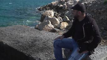 WEBCLIP. Stories from Samos. 27-year ols Omar from Iraq (INT)