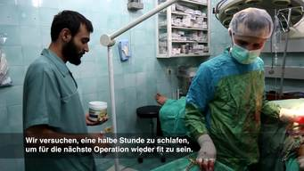 Dr Abu Huthaifa – Surgeon in Aleppo (Part One) DE