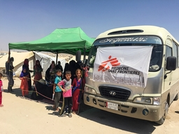MSF operations in Iraq