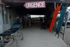 Haiti - Leogane container hospital