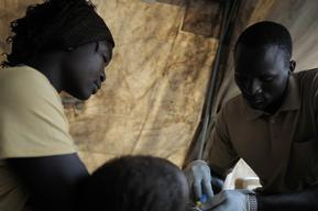 Refugees in Upper Nile state - South Sudan