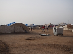 Providing care to displaced communities, Tikrit district, Iraq.