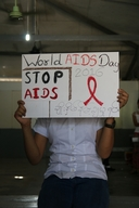 Falling into the gap HIV+ adolescents - WAD 2016