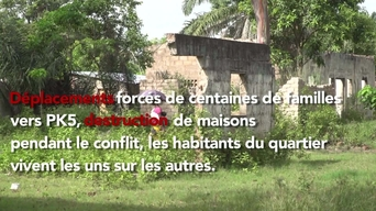 WEBCLIP - Displaced Central Africans living in Bangui's Muslim enclave, PK5, CAR (FR)