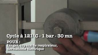 VIDEO: Sterilization for Health Care Facilities Part 7 Sterilizer TBM 90L (FR)