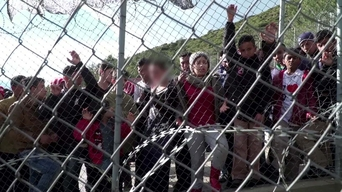 WEBCLIP: Hala, young Syrian refugee held in detention centre on Samos, Greece (INT)