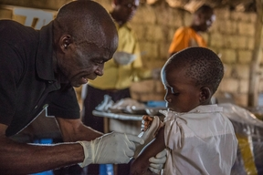 DRC Vaccination campaign Oct 2015