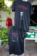 'Tour From Hell' T Shirt Stand in Ghent