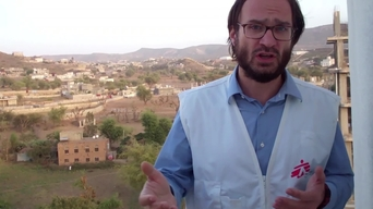 INTERVIEW: Michele Trainiti on MSF intervention following airstrike in Taiz, Yemen (INT)