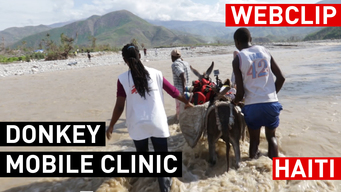 Haiti: Donkey Mobile Clinics | Web Clip | FRENCH