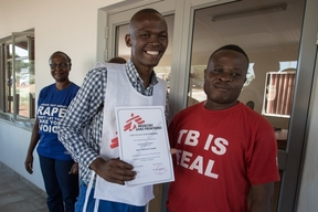 Sign language training and TB support in Swaziland