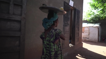 WEBCLIP - Adama, 12 -year old girl in Carnot enclave, CAR (INT)
