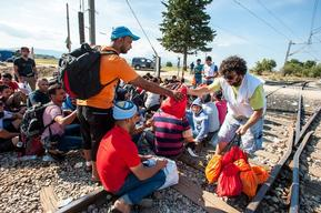 MSF Activities on the Greek-Macedonian border