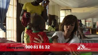 MSF Spain DRTV Spot  with Ruth Conde as prescriber-Call Now version