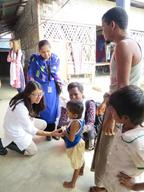 MSF President Joanne Liu visits emergency projects in Cox's Bazar, Bangladesh