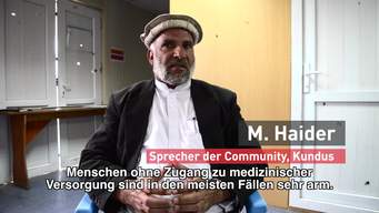 Kunduz 1 Year after: Social Media call to action | Webclip | German