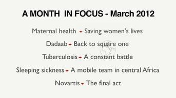 A Month in Focus - March 2012