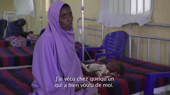 WEBCLIP: Hussaina's daughter is in an MSF ITFC in Maiduguri (FR)