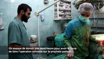 Dr Abu Huthaifa – Surgeon in Aleppo (Part One) FR