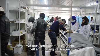 Iraq – Influx of wounded arrive at MSF hospital south of Mosul (DE)