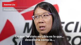 Joannes Liu's testimony from Libya | Webclip | Spanish