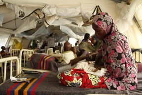MSF intervention in Borno state, Nigeria