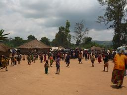 DRC - Displacement of population in Gety