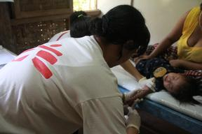 Myanmar, Dawei - MSF treats first CMVR patients with oral drug