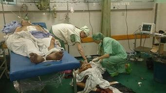 Palestinian Territories, Gaza, MSF Support to Al Shifa hospital, MSF, august 2014