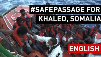 STORY | #SAFEPASSAGE for Khaled, Somalia