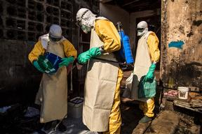 Monrovia Ebola Outreach team