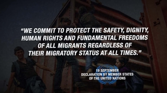 "WEBCLIP ""Protect all migrants?"" - UN Summit on Refugees & Migrants (ENG)"