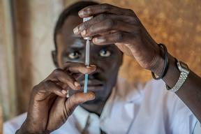 (MSF140111)`PCV Vaccination Campaign in Yida Camp S.Sudan