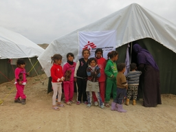 Mobile clinic in Tuz Kurmato (Kirkuk)