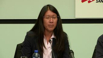 Press conference of Dr. Joanne Liu about European Governments feeding Libya's business of suffering