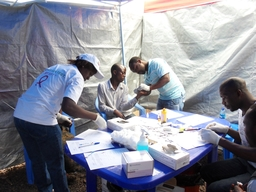 HIV project in Goma
