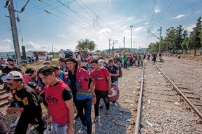 MSF Activities On The Greek / FYROM Border