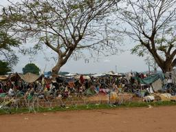 Mpoko camp, Bangui Airport