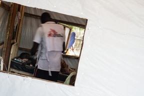 MSF Emergency Response - MSF clinic Central camp