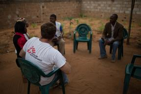 HIV SUPPORT GROUP COMMUNITY  MAPUTO MOZAMBIQUE